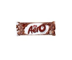 Nestles Aero Milk Chocolate Bar
