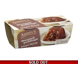 Aunty´s Ginger Syrup Pudding