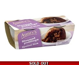 Aunty´s Spotted Dick Pudding