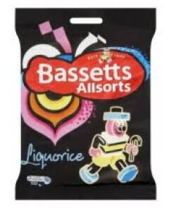 Liquorice Allsorts - Bassetts