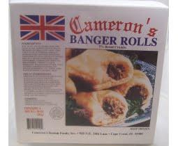 Cameron´s Banger Rolls 4 Pack