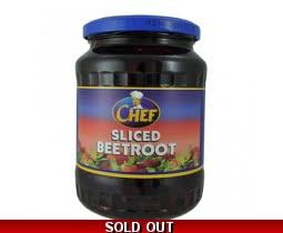 Chef Sliced Beetroot in Malt Vinegar