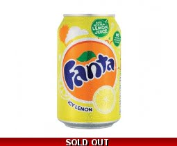 Fanta Lemon Sparkling Drink
