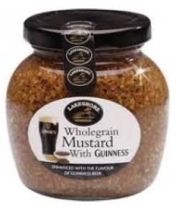 Lakeshore Wholegrain Mustard with Guinness