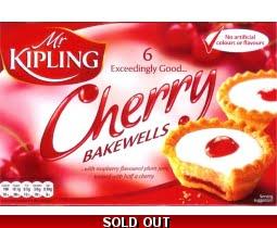 Mr Kipling Cherry Bakewells