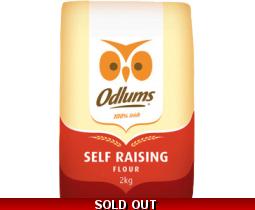 Odlums Self Raising Flour 2kg