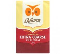 Odlums Extra Coarse Wholemeal Flour 2kg