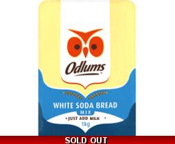 Odlums White Soda Bread Mix 1kg
