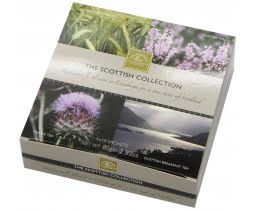 The Scottish Collection 4-Flavor Tea Box