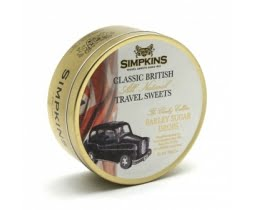 Simpkins Black Cab- Barley Sugar Travel Sweets