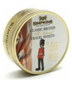 Simpkins British Guardsman- Cherry Travel Sweets