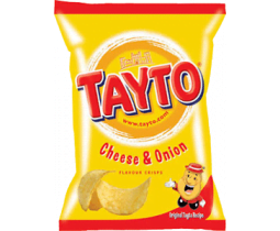 Tayto - Cheese & Onion Crisps
