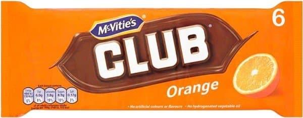 Jacobs Club Biscuits Orange 6 Pack