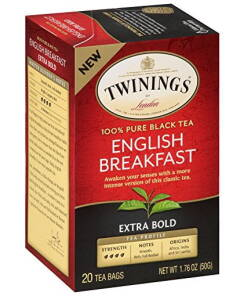 Twinings English Breakfast Tea Teabags Extra Bold 20s