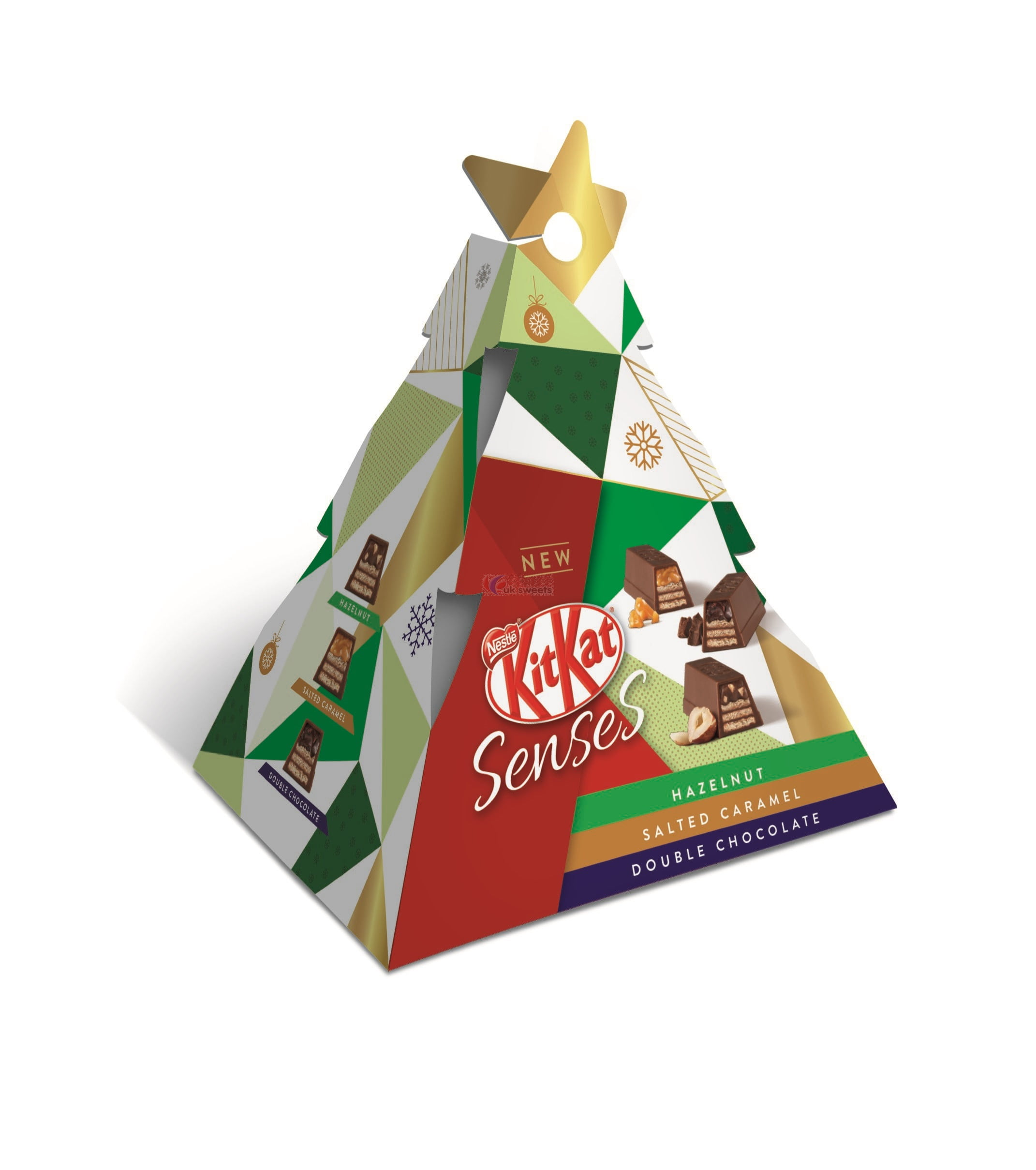 Nestle Kit Kat Senses Mini Christmas Tree | Brits R U.S.